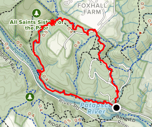 Soapstone Trail to Nunnery Trail to Grist Mill Trail Map