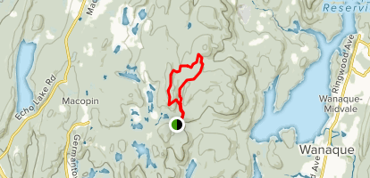 Buck Mountain Loop from Otter Hole Map
