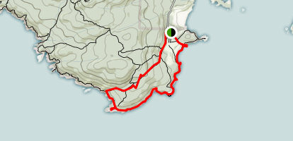 Beechey Head Loop Map