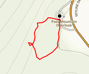Pass Mountain Loop Map
