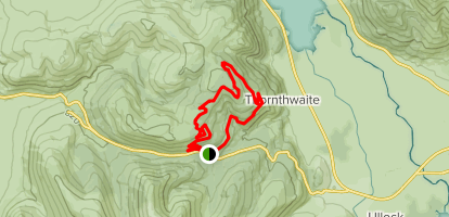 Whinlatter North Loop Map