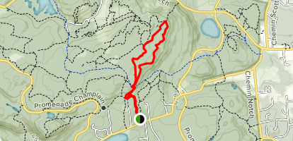 Skyline Trail Loop Map