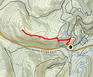 Whinlatter Via Honister Trail Map