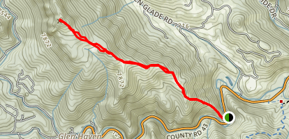 Triangle Mountain Map