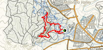 Stromlo Forest Short Loop Map