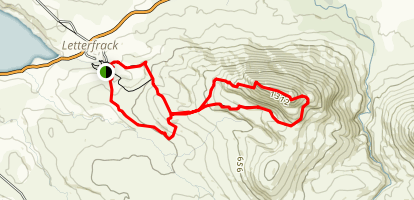 Diamond Hill Loop Map
