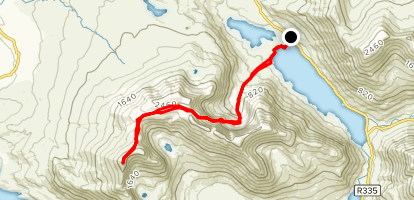 Mweelrea Trail Map