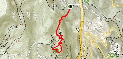 Mont Gros Map
