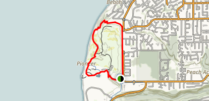 Chambers Bay Soundview and Grandview Trail Map