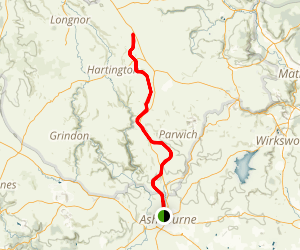 Tissington Trail Map
