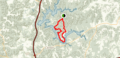 Salt Fork Horseback Riding Loop Map