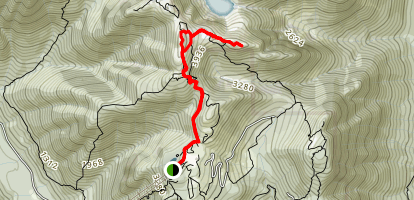 Grouse Mountain Loop Map