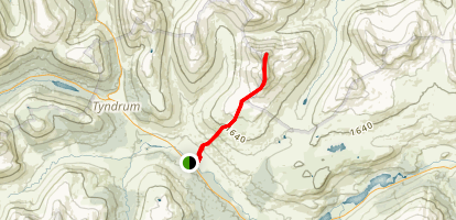 Path to Ben Challum Map