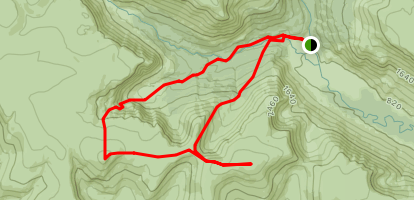 Glen Clova Mayar and Driesh Map