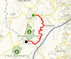 Adulum MTB Trail Map