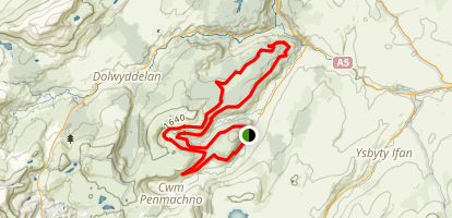 Penmachno Trail Map