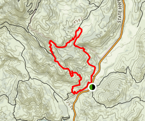 Monument Trail and West Mesa Trail Loop Map