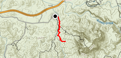 Picketpost Area Trail Map
