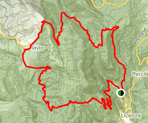 Monte Pellecchia Map