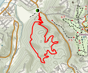 Devou Park MTB trails Map