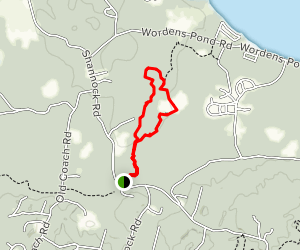 Browning Woods Farm Trail Map