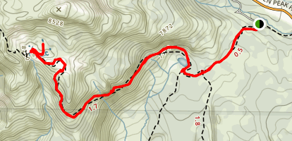 Bumpas Hell to Cold Boiling Lake Map