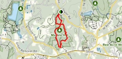 Marble Hill Loop Map