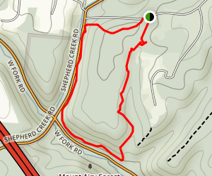 Mount Airy Loop Map