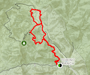 Lovell Canyon Trail & Schafer Spring Trail Map