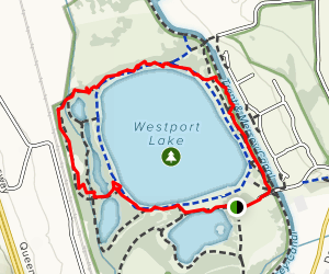 Westport Lake Map