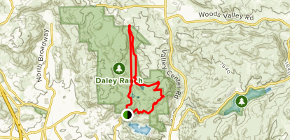 Sage Trail to Jack Creek Meadow Loop Trail Map