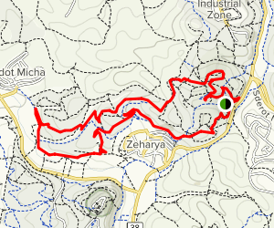 Zeharya Single  Map