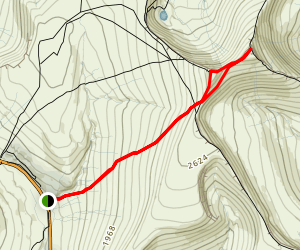 Pen Y Fan from A470 Map