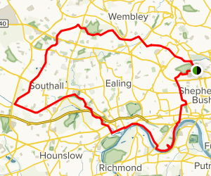 Grand Union Canal Loop Map