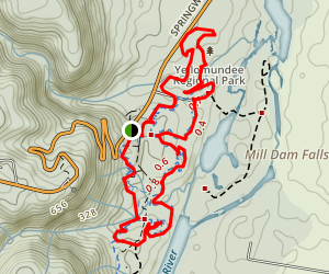 Yellomundee Mountain Bike Loop Map