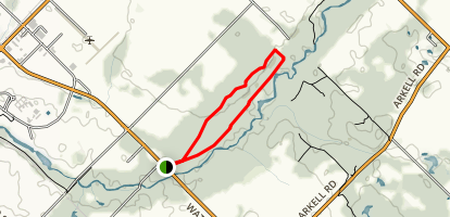 Smith Property Loop Trail Map