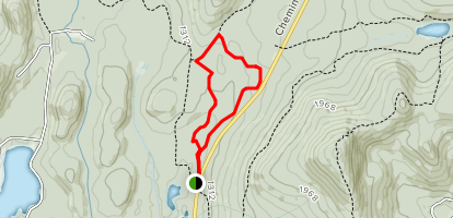 Chasseur Trail Map