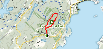 Ridge Road to Old Salem Road Loop Map