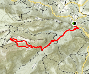 Puig de Massanella Map