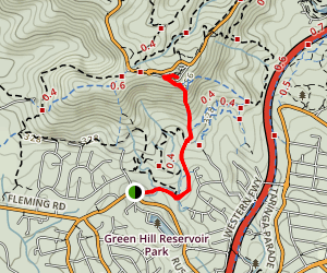 Chapel Hill Summit Lookout Trail Map