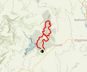 Gisburn Forest Loop Map