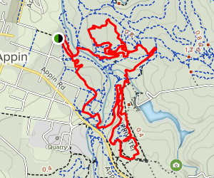 Appin MTB Trails Map