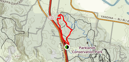 Road Rage and Coobong Loop Map