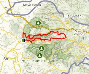 Kisalon, Kdoshim, North and South View Route Map