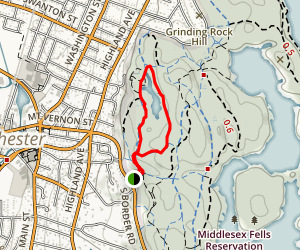 Cranberry Pond Path Map