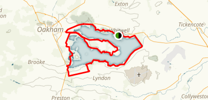 Rutland Water Loop Map
