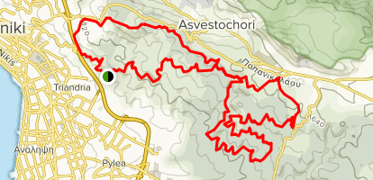 Seich Sou Forest MTB Loop Map