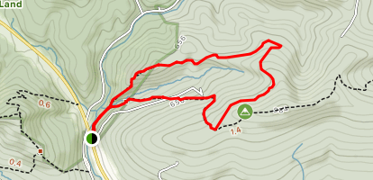 Eagle Rock and Horse Shoe Trail Loop Map