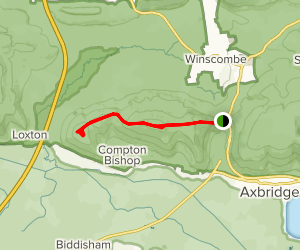 Crook Peak Map