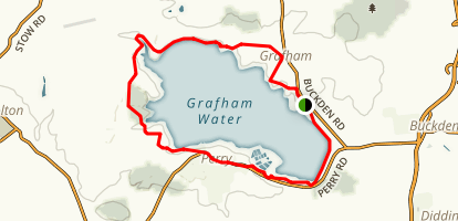 Grafham Water Loop Map